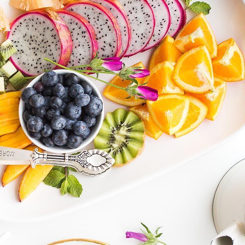 Salade de fruits recette chrononutrition Fab & Forme