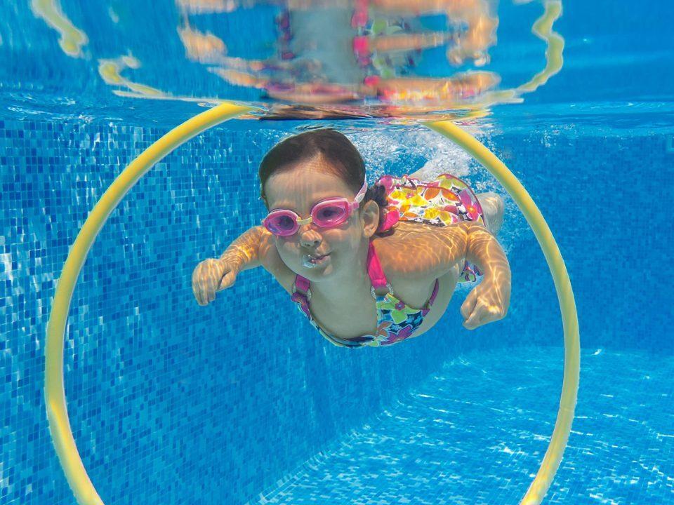 Apprentissage natation enfant immersion