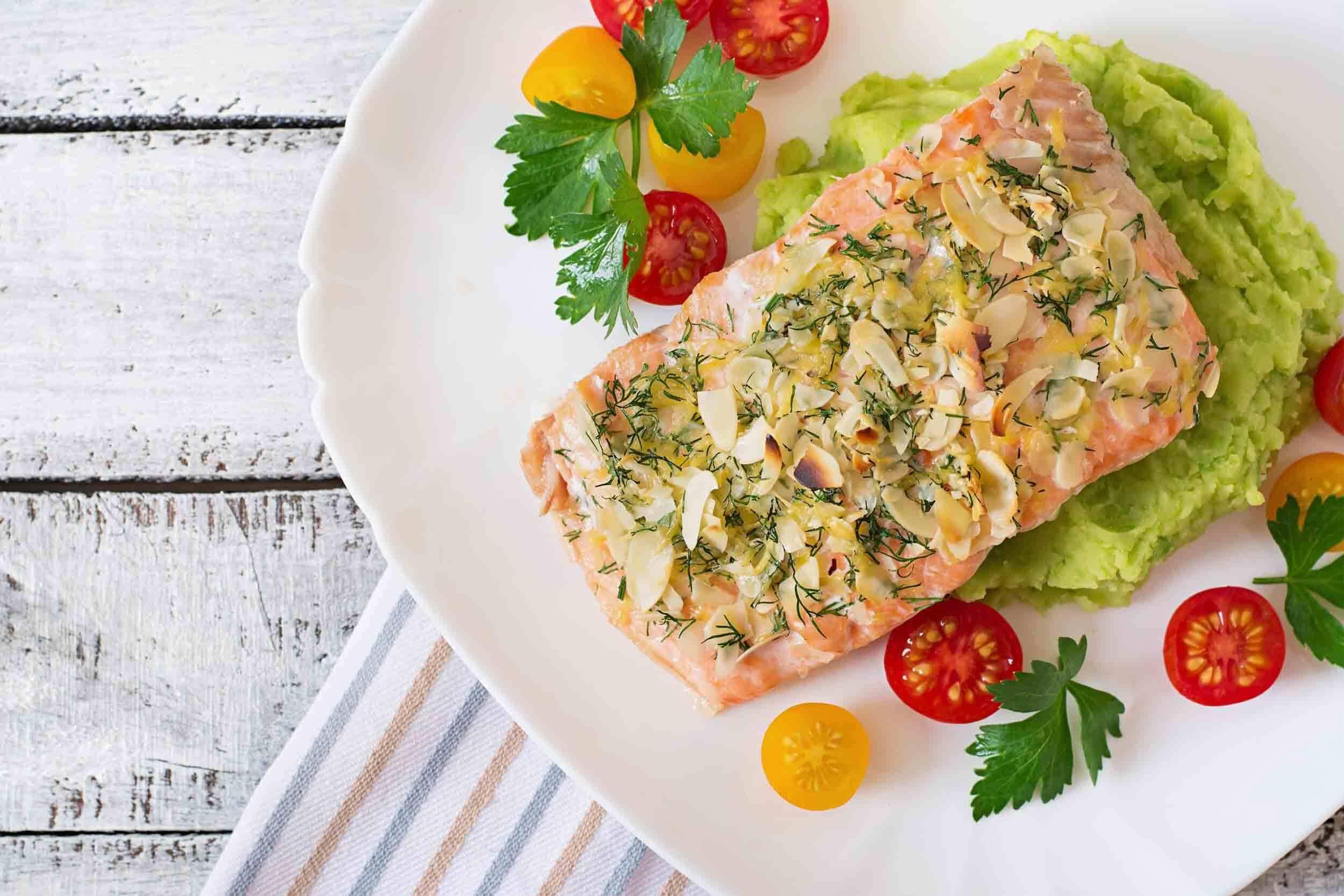 Pavé de saumon recette équilibre alimentaire Fab & Forme